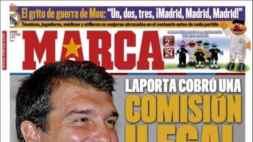 De las portadas del día (22/10/2010) #11