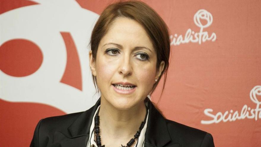 Cristina Maestre, portavoz del PSOE en Castilla-La Mancha
