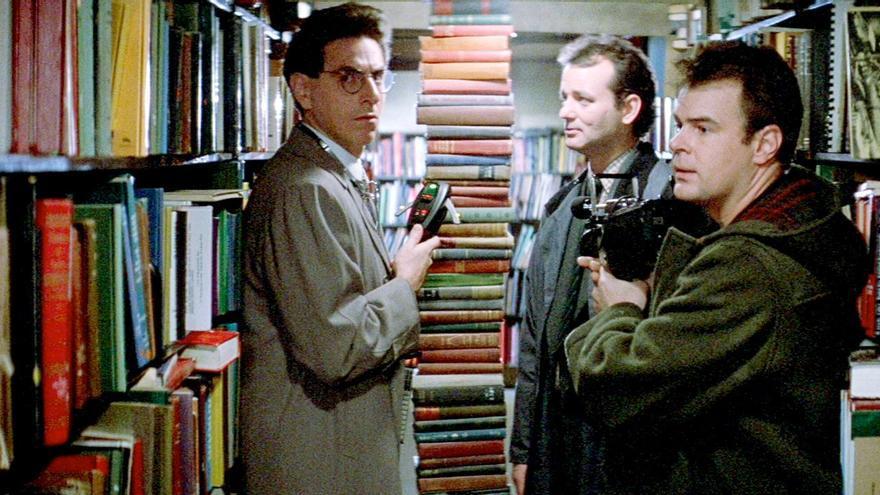 Los cazafantasmas también iban a la biblioteca