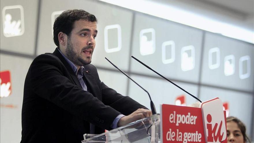 El candidato de IU a la presidencia del Gobierno, Alberto Garzón. / Efe