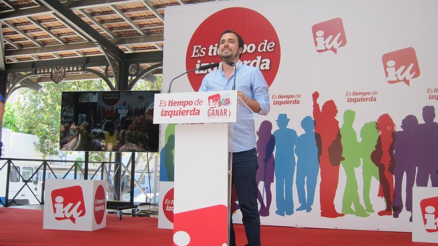 """Garzón: """"El problema de este país son los 'Botines' que gobiernan sin presentarse a las elecciones"""""""