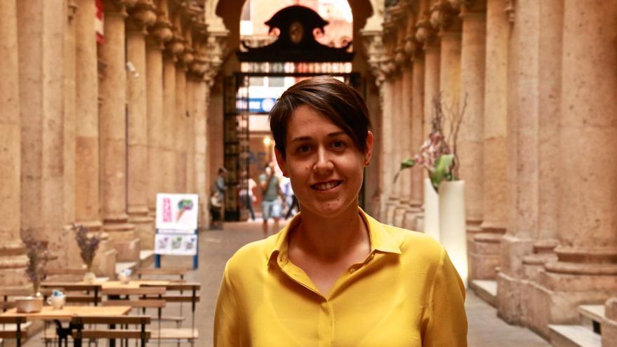 La cabeza de lista al Congreso de Unidos Podemos por Albacete, Teresa Arévalo