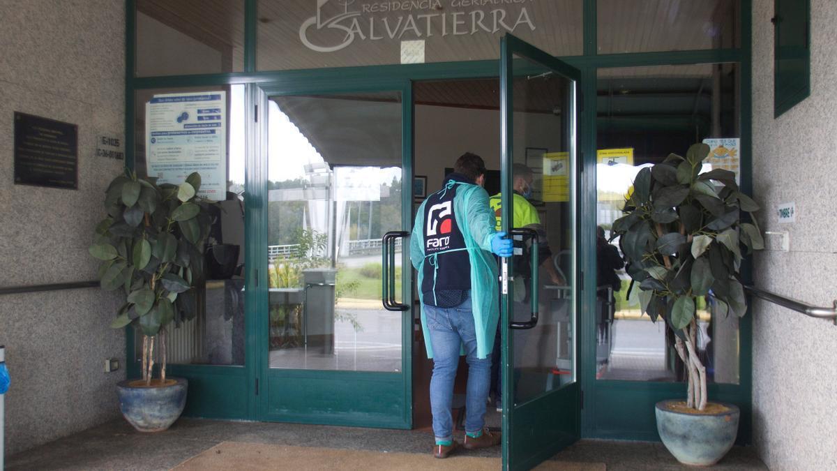 La Xunta de Galicia ha intervenido la residencia geriátrica de Salvaterra, situada en el municipio de Salvaterra de Miño.