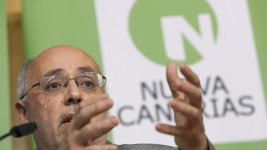El candidato al Cabildo de Gran Canaria por Nueva Canarias, Antonio Morales. EFE/Ángel Medina G.