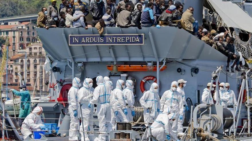 Recuperan 17 cadáveres nuevos rescates de inmigrantes en el Mediterráneo
