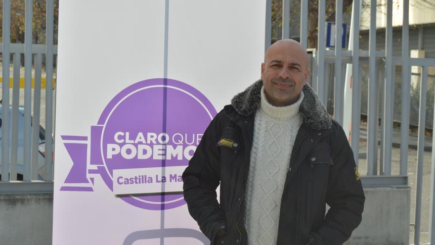 José García Molina, candidato de Claro que Podemos en Castilla-La Mancha / Foto: Javier Robla