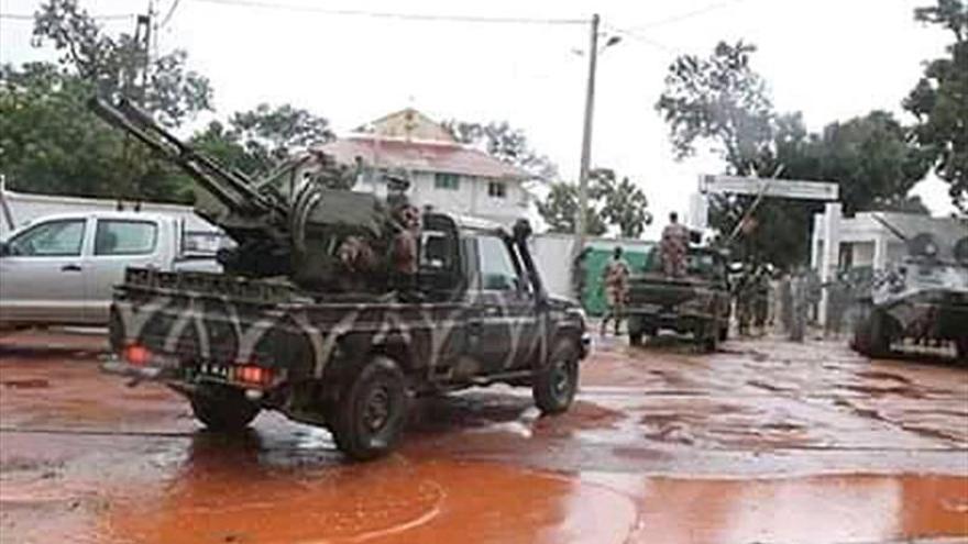 El Presidente Boubacar Keita anuncia su dimisión tras el golpe de estado
