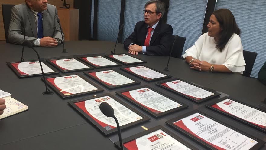 Reunión entre representantes de Ralons y Bureau Veritas