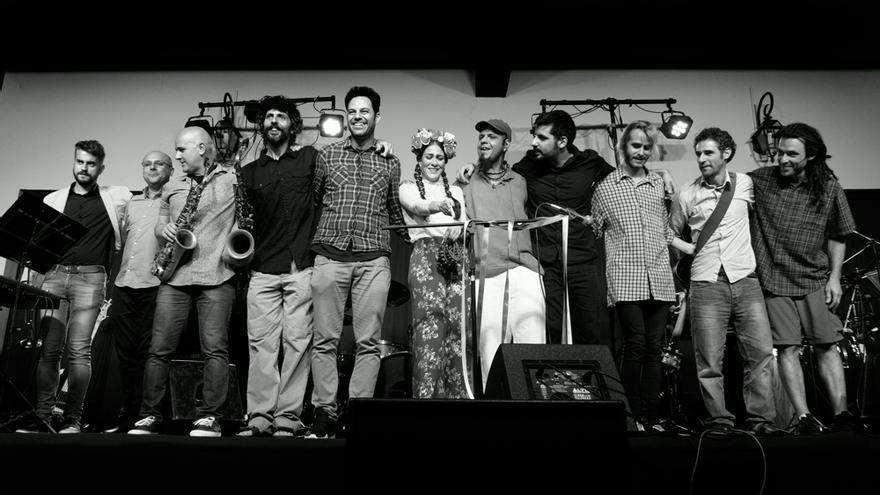 La agrupación musical canaria Simbeque