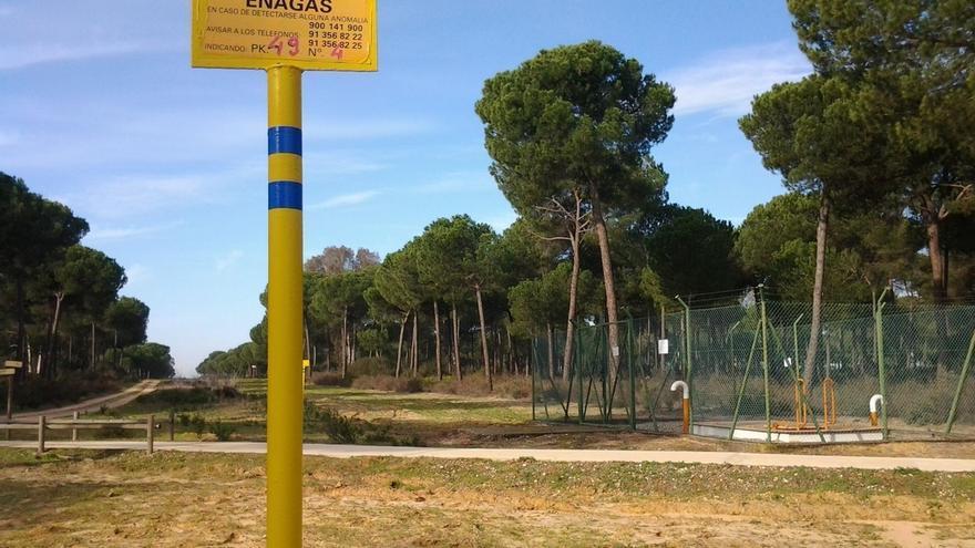 El Estado inicia el proceso para la expropiación de fincas por donde pasa el proyecto de gas de Doñana