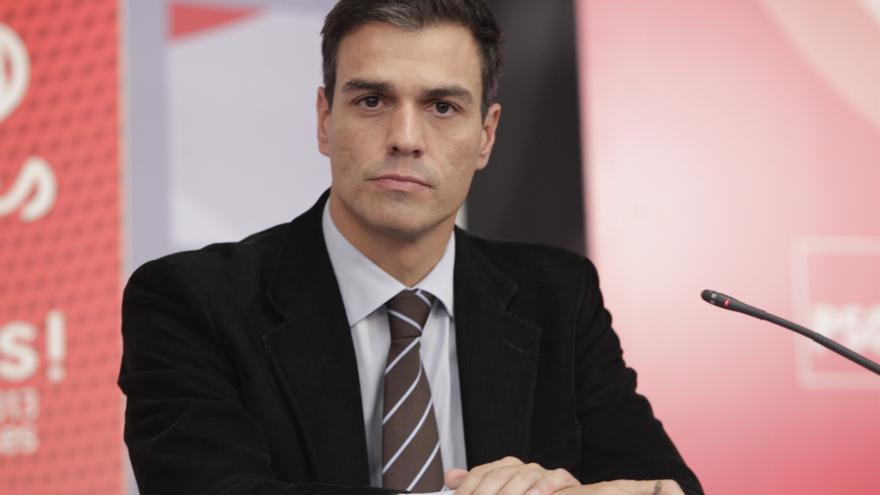 """Pedro Sánchez (PSOE) ve un """"error"""" limitar la acción exterior a las CCAA y defiende que """"han sido muy leales"""""""