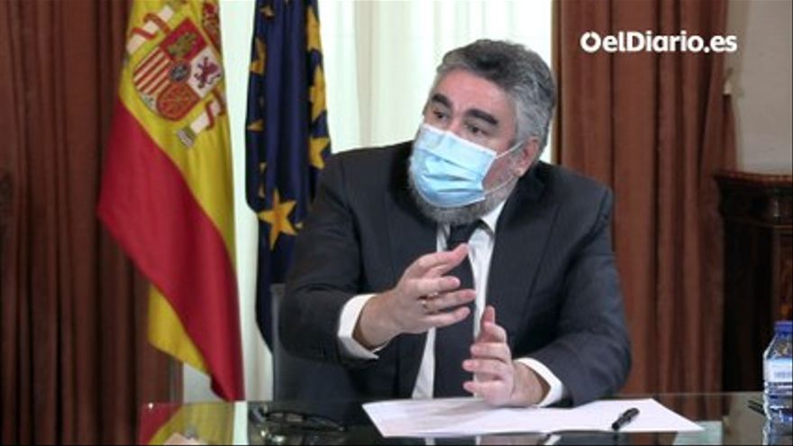 VIDEO |  Interview with José Manuel Rodríguez Uribes, Minister of Culture and Sports