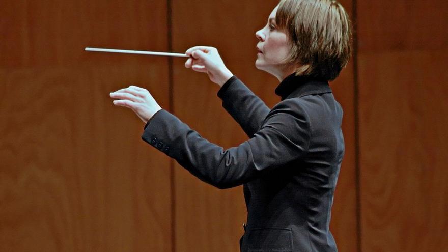 La directora de orquesta Susanna Mälkki