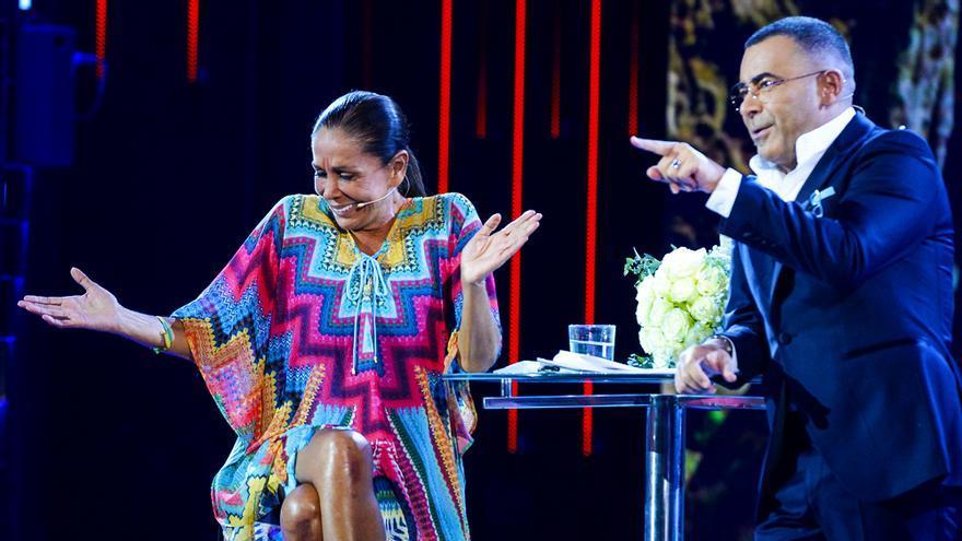 Isabel Pantoja y Jorge Javier Vázquez en Telecinco