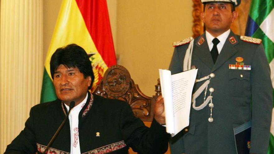 Morales dice que Chávez ya recibe fisioterapia