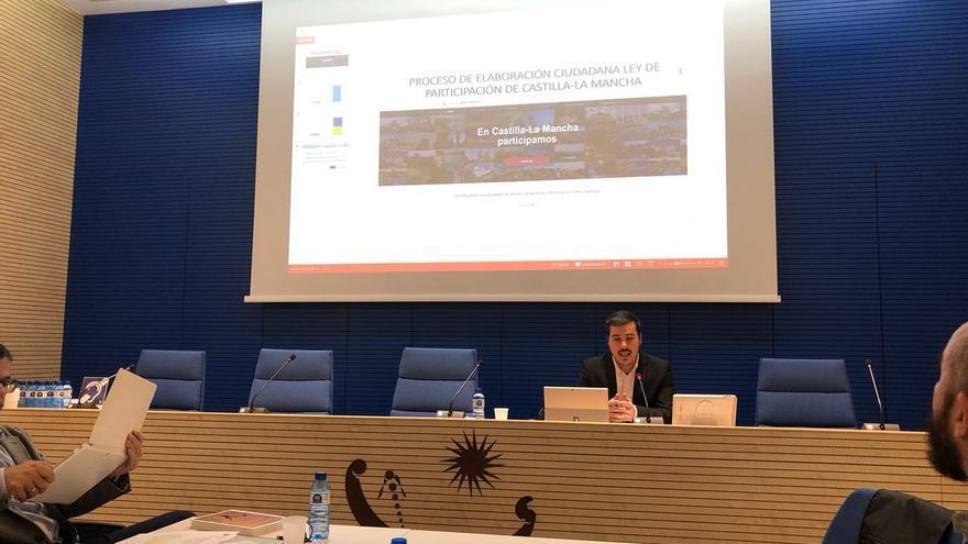 José Luis García Gascón en la Conferencia autonómica de participación ciudadana