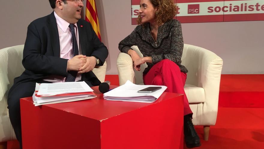 """Iceta (PSC) pide el 'sí' al acuerdo PSOE-C's: """"No contradice el programa socialista"""""""