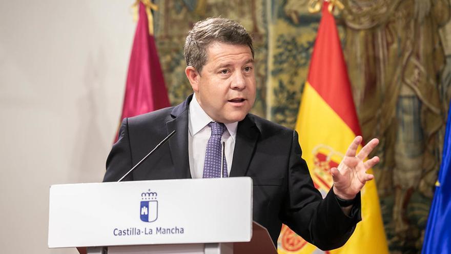 """García-Page celebra que empieza a funcionar la política de """"cambio de la desigualdad hídrica"""" con el nuevo plan hidrológico del Tajo"""