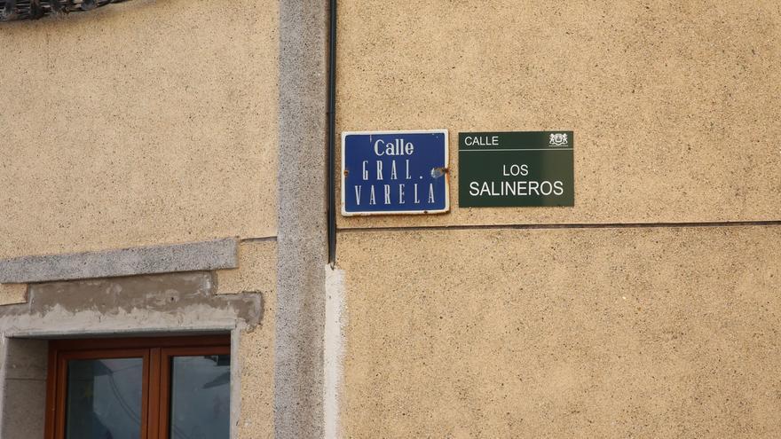 Calle General Varela, que ahora pasaría a llamarse Los Salineros
