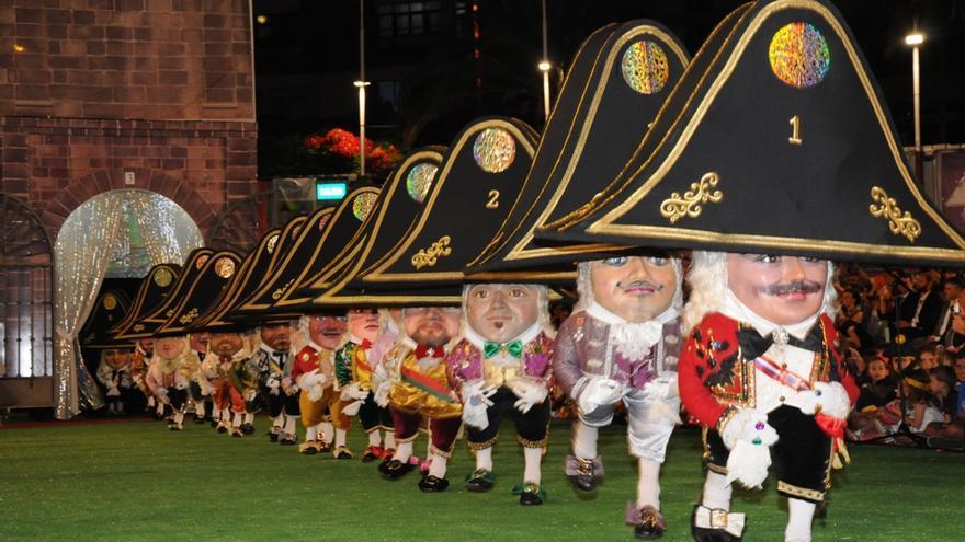En la imagen, Danza del Enano de las Fiestas Lustrales.
