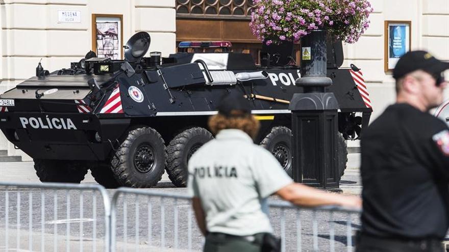 Grandes medidas de seguridad por la cumbre de líderes europeos en Bratislava