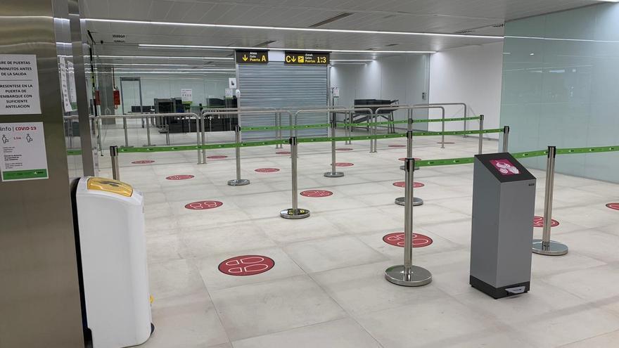 Terminal remodelada en el Aeropuerto de Vitoria