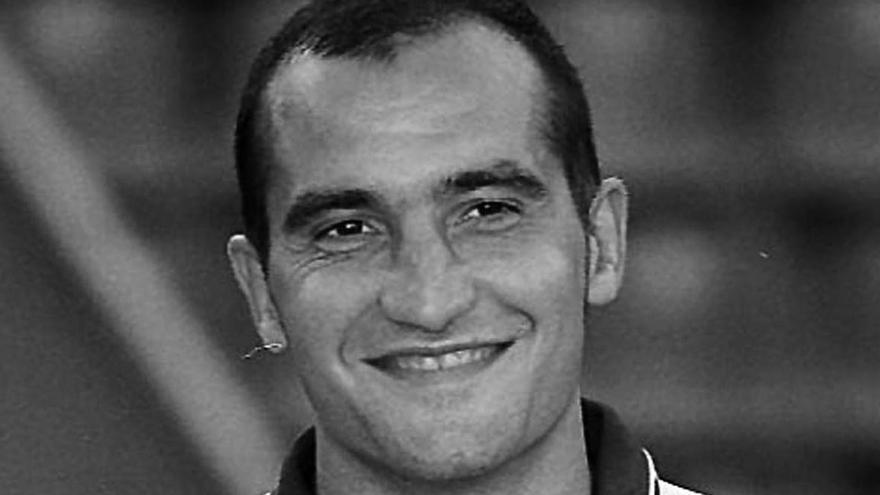 Antonio Pinilla cuando era jugador del CD Tenerife.