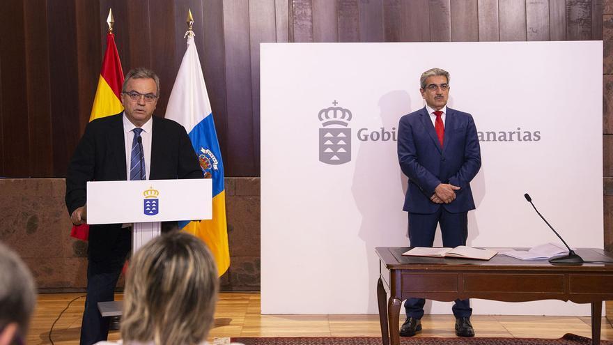 Miguel Ángel Pulido durante su toma de posesión.