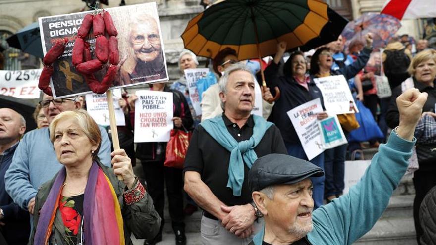 """Los pensionistas critican a Hernando (PP) por pedirles que den las """"gracias"""""""