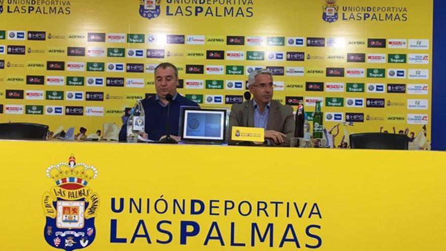 Miguel Ángel Ramírez y Patricio Viñayo