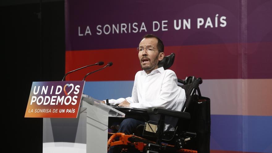 """Echenique dice que nadie ha culpado a Iglesias de la pérdida de votos, así que le parece un factor """"improbable"""""""