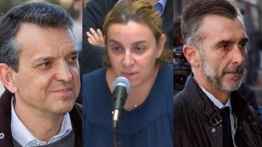 Jorge Vela, Elisa Maldonado y José Manuel Aguilar
