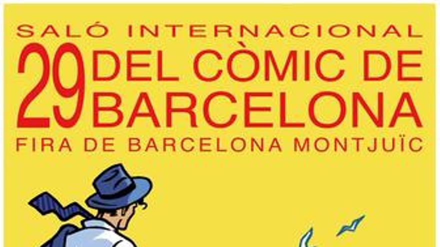Cartel del 29º Salón del cómic de Barcelona