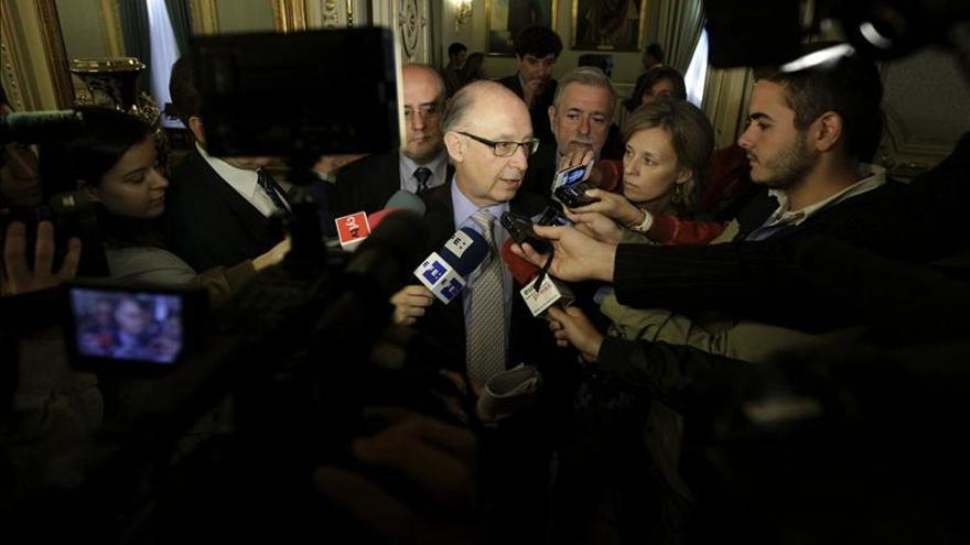 Montoro niega haber negociado con Cataluña el reparto del déficit