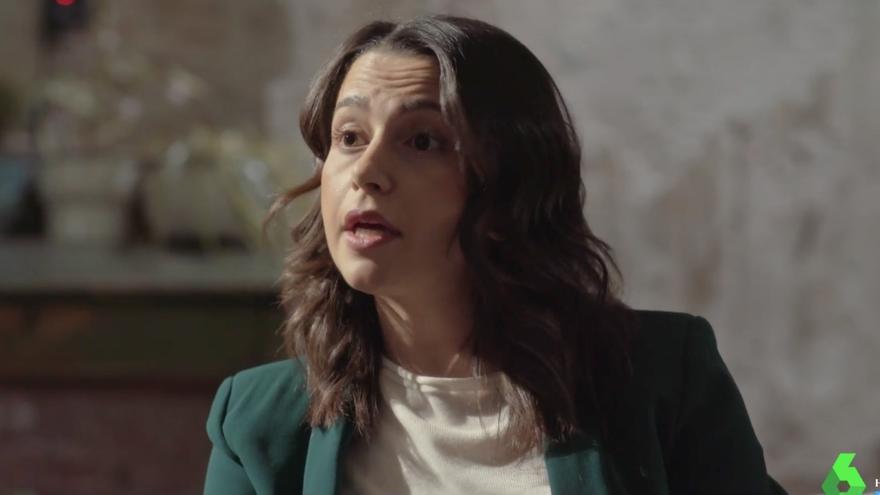 Inés Arrimadas en el cara a cara con Irene Montero