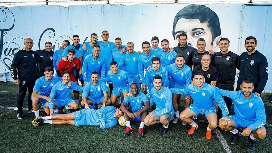 El equipo de Juan Guedes sigue preparándose para la fase de ascenso