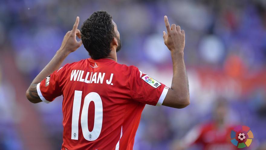 El ariete brasileño Willian José llega cedido a Las Palmas por una temporada (FOTO: udlaspalmas.es)