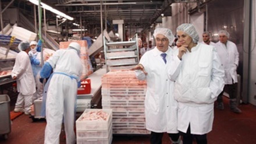 Cosepal Visita Empresa Frimancha Industrias Cárnicas S.A. De Valdepeñas