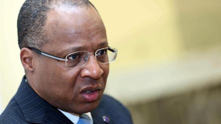 Ulisses Correia, primer ministro de Cabo Verde, durante la entrevista