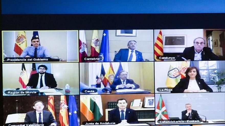 Conferencia de Presidentes del pasado fin de semana.