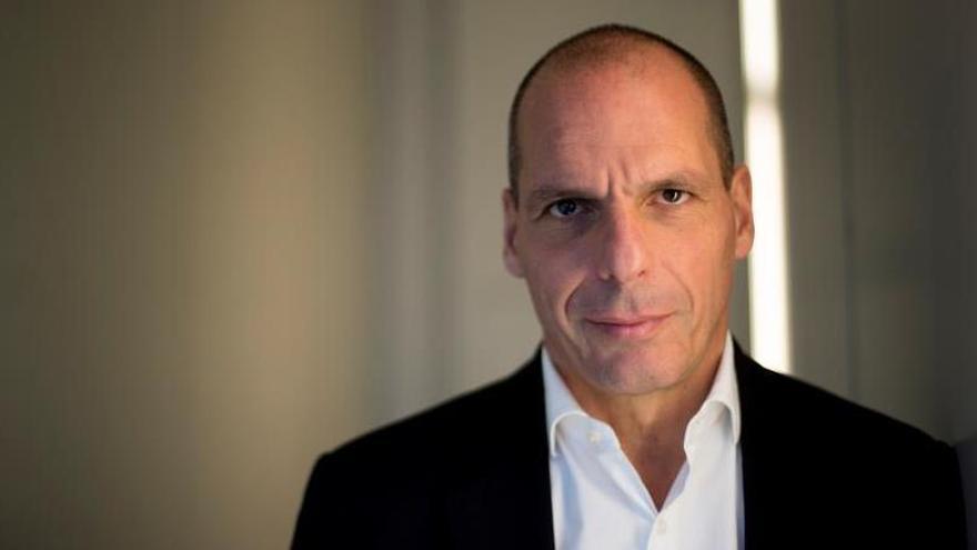 El exministro de Finanzas griego y líder de DIEM25 Yanis Varoufakis.