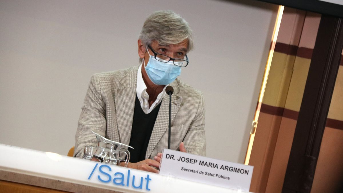 El secretario de Salut Pública, Josep Maria Argimon, en una fotografía de archivo