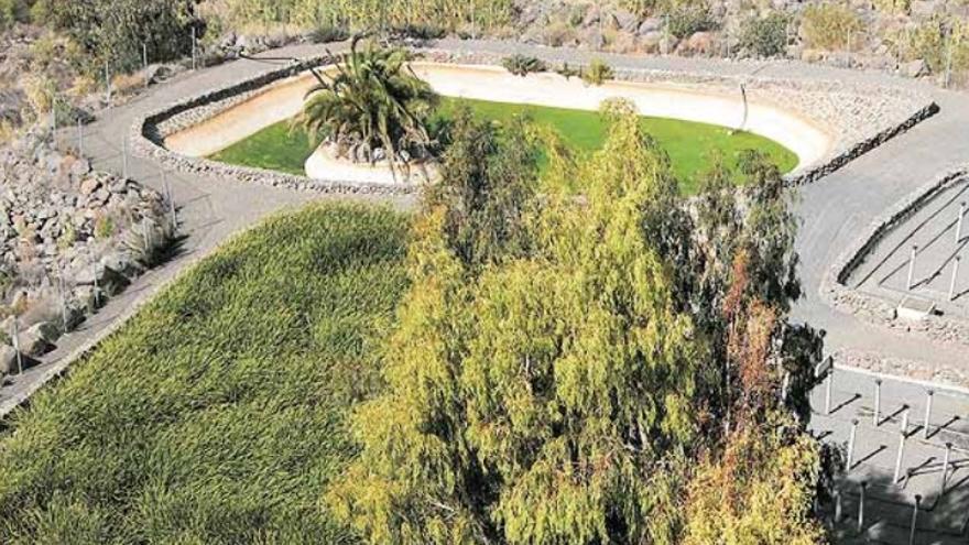Sistema de Depuración Natural de Santa Lucía de Tirajana.