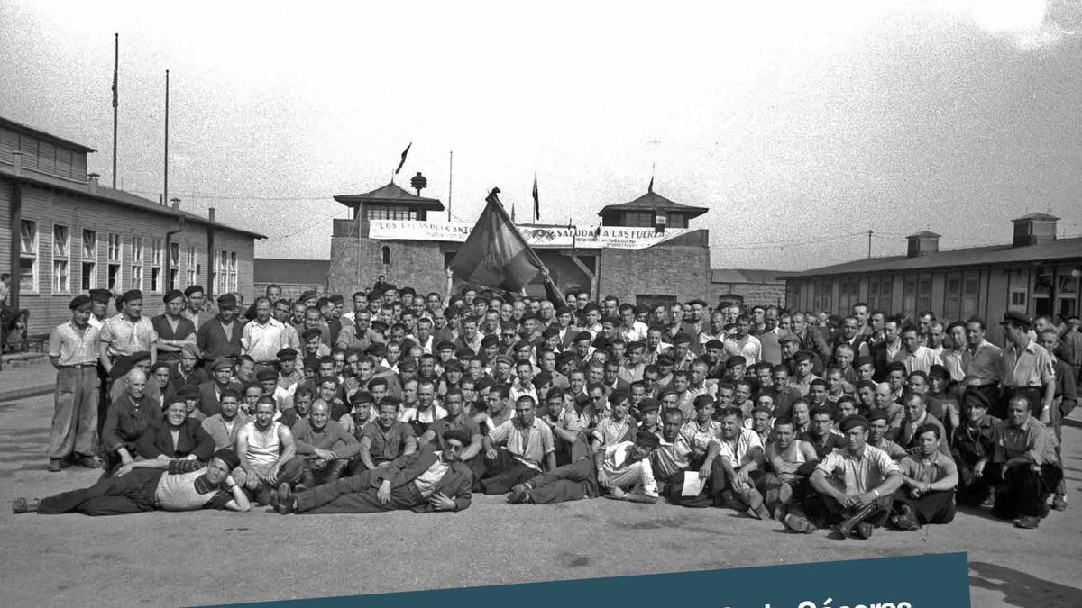Cartel de la exposición sobre los republicanos deportados a campos nazis