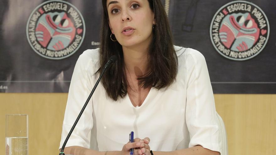 """Rita Maestre dice que la dimisión de Aguirre """"no es suficiente"""" y que es """"cómplice del saqueo"""" por """"mirar a otro lado"""""""