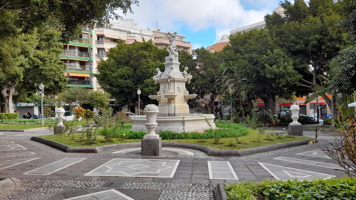 La Plaza Weyler, en Santa Cruz de Tenerife.