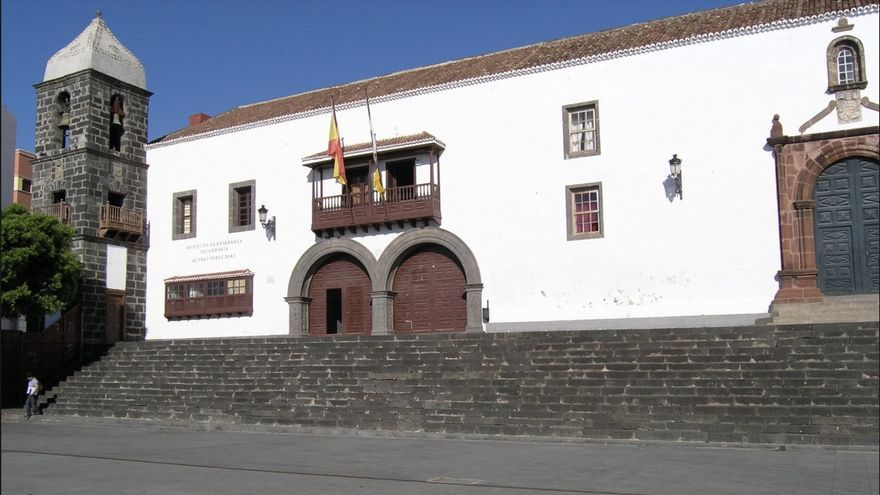 IES Alonso Pérez Díaz, en Santa Cruz de La Palma.