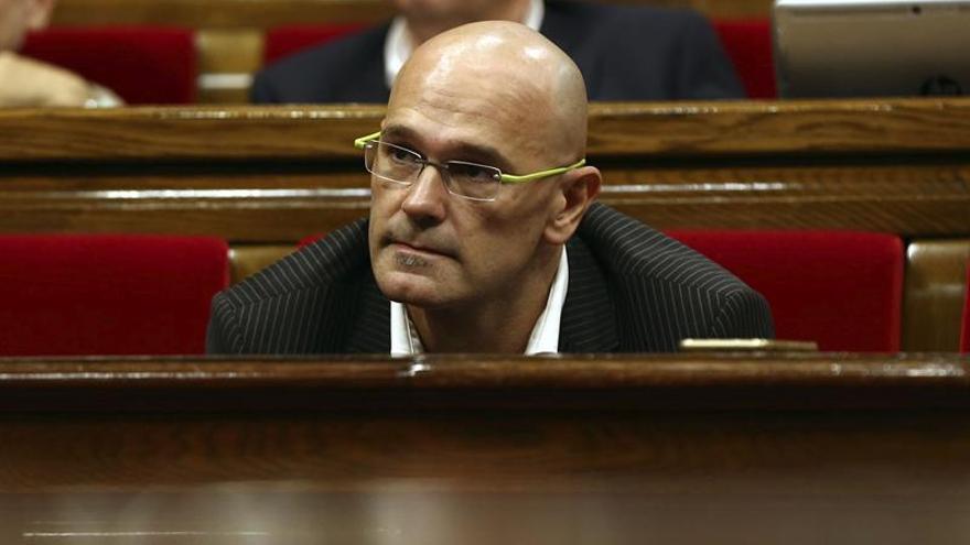 "Romeva: El Govern ""no renuncia"" al referéndum unilateral si falla vía pactada"