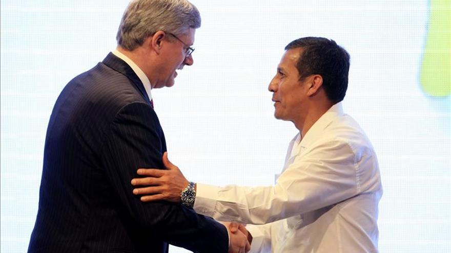 Perú y Canadá profundizarán sus relaciones al recibir Humala a Harper