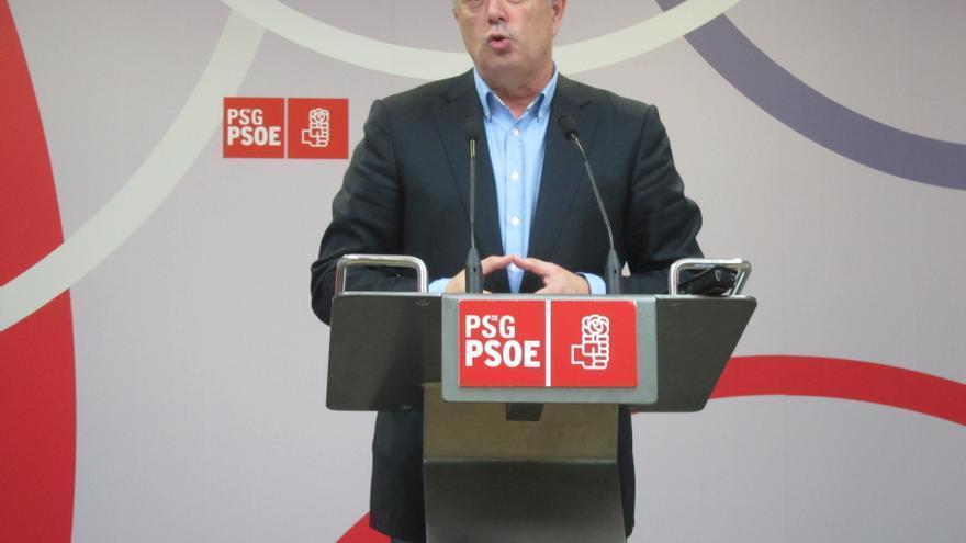 """Pachi Vázquez reitera que está """"convencido"""" de que el Comité Federal del PSOE autorizará las primarias gallegas"""